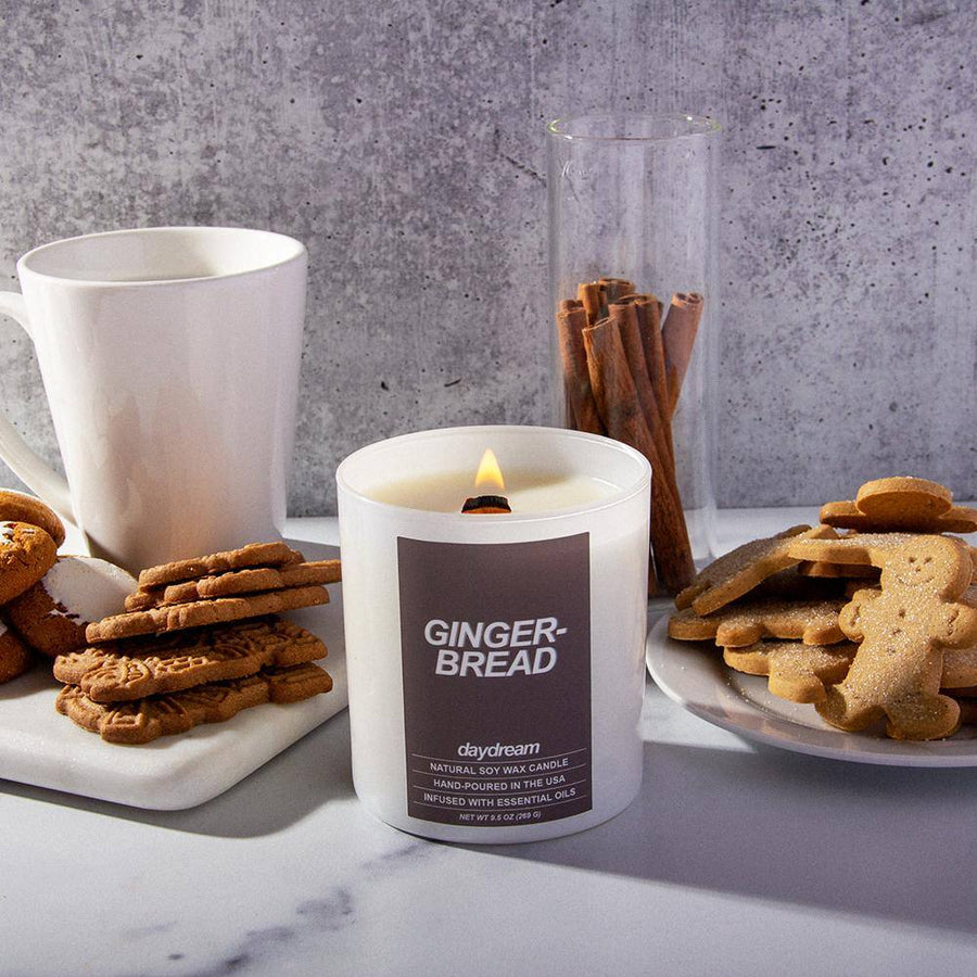 Gingerbread | Soy Jar Candle |  Daydream Candle Company