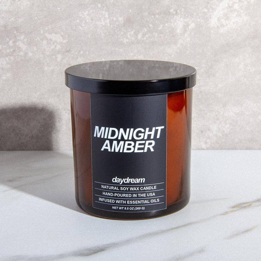 Midnight Amber | Soy Jar Candle | Daydream Candle Company