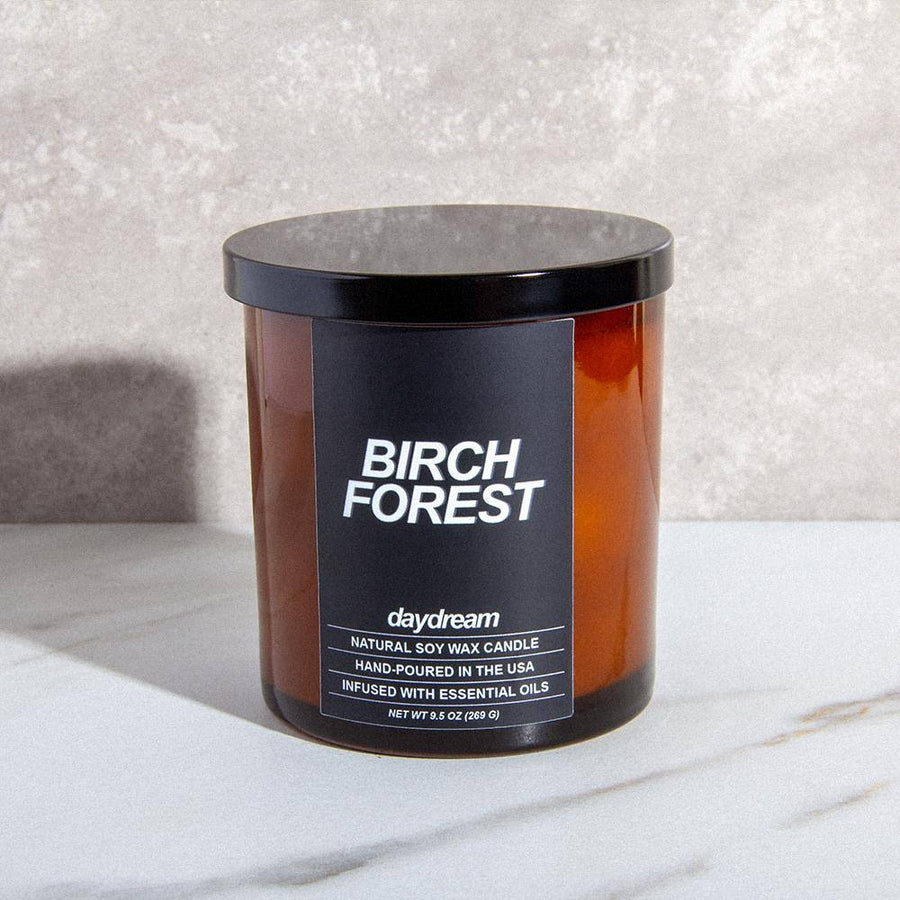 Birch Forest | Soy Jar Candle | Daydream Candle Company