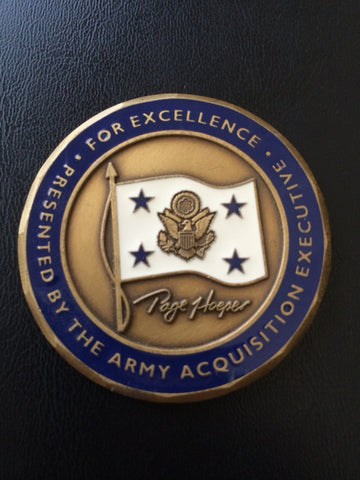 Army Acquisition Executive (1st) Paul J. Hoeper