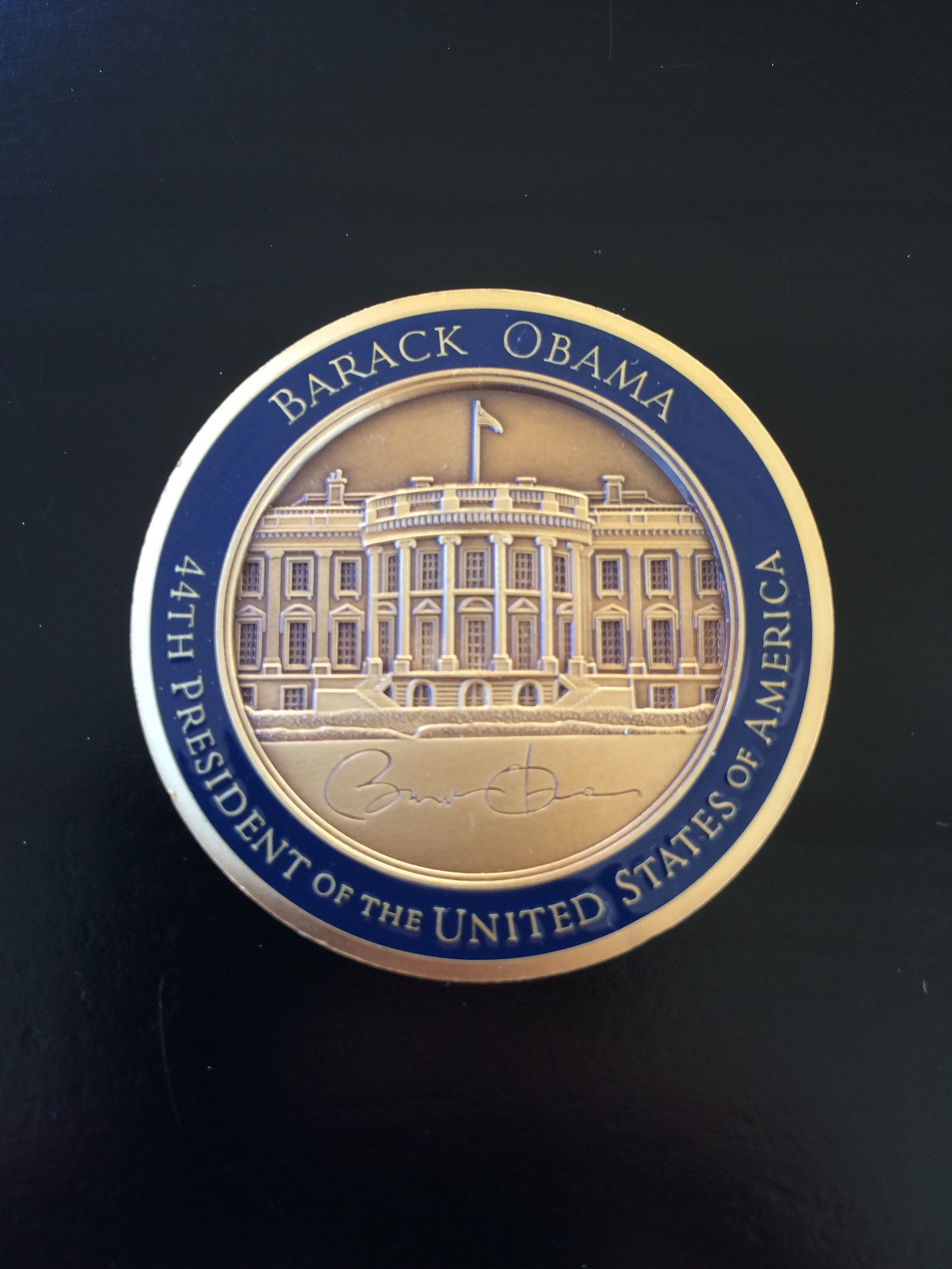 POTUS (44th) Barack H. Obama - Personal Coin (Round)
