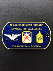 10th Mountain Division Sustainment Brigade Commander & CSM (Version 2)