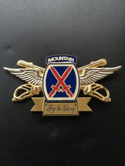 10th Combat Aviation Brigade Commander & CSM