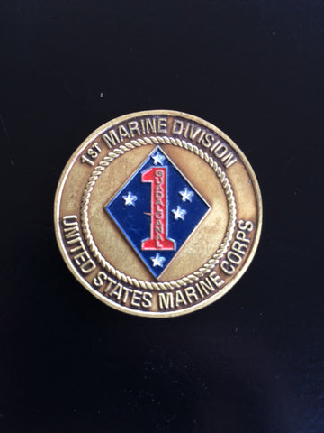 1st Marine Division Sergeant Major