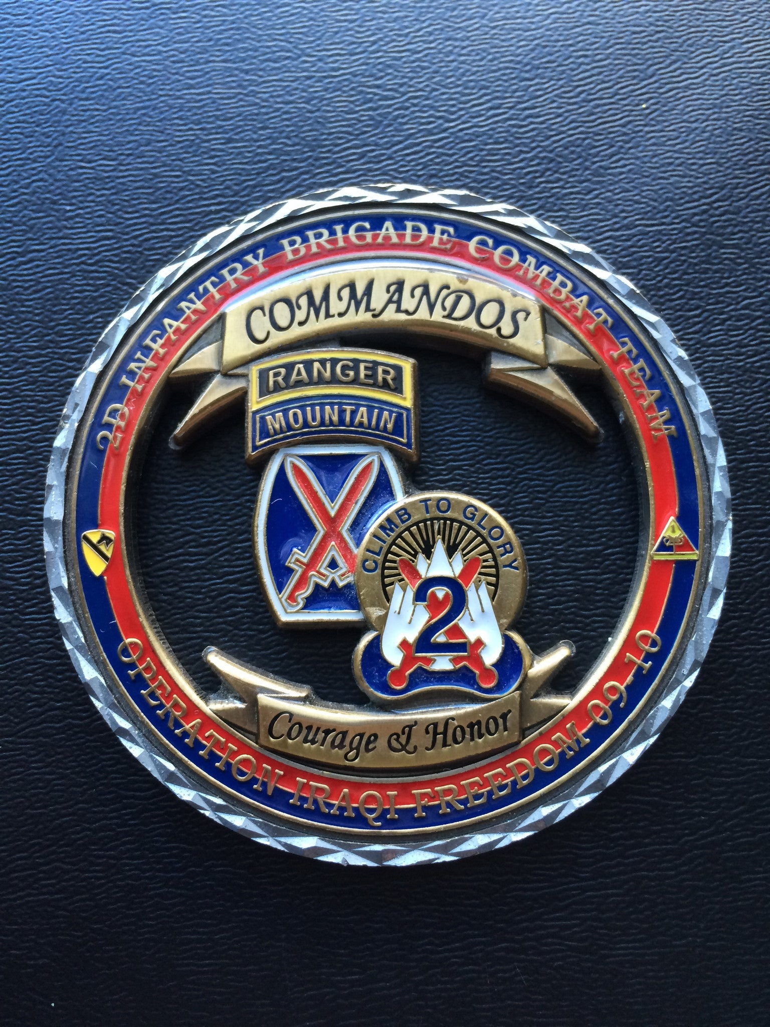 10th Mountain Division 2nd IBCT Commander & CSM (Version 2 ...