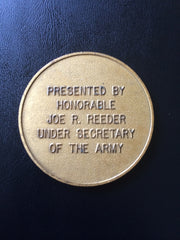 Under Secretary of the Army (23rd) Joe R. Reeder