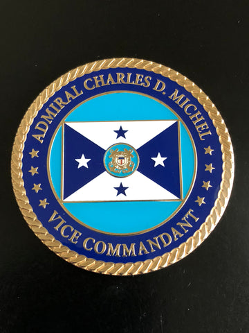 Vice Commandant of the Coast Guard (30th) Admiral Charles Michel