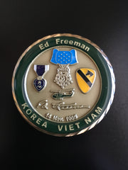 "Medal of Honor (MoH) Recipient Major Ed ""Too Tall"" Freeman"