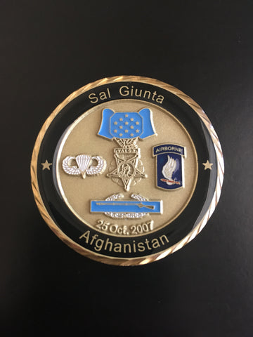 Medal of Honor (MoH) Recipient SSG Salvatore Giunta
