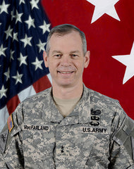 1st Armored Division Commanding General MG MacFarland