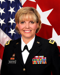 21st TSC Commanding General MG Patricia McQuistion