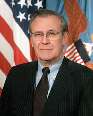 Secretary of Defense (21st) Donald H. Rumsfeld (Round)