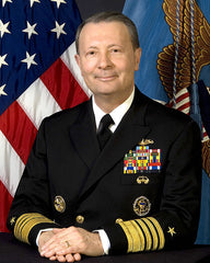 Vice Chairman Joint Chiefs of Staff (7th) Admiral Edmund P. Giambastiani