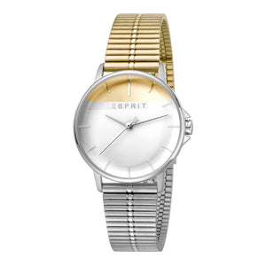 Esprit ES1L065M0095 Fifty-Fifty Gold Silver MB Ladies Watch