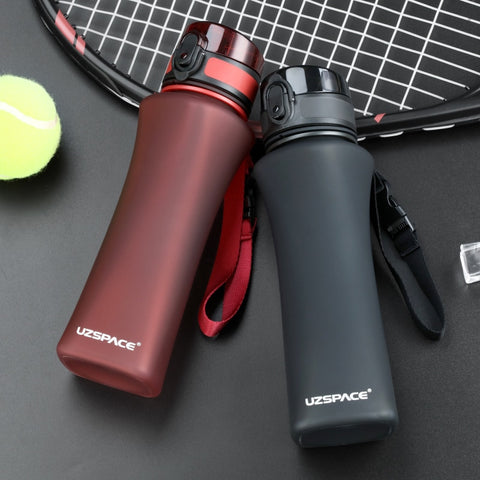 Sports Water Bottles 500ml Protein Shaker Climbing Hiking Travel Bottle BPA Free