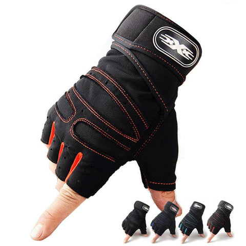 Sport/Fitness Non-Slip Breathable Half Finger Gloves