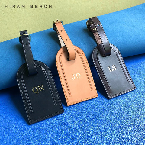 Personalized Embossed Custom Initial Luggage Tags