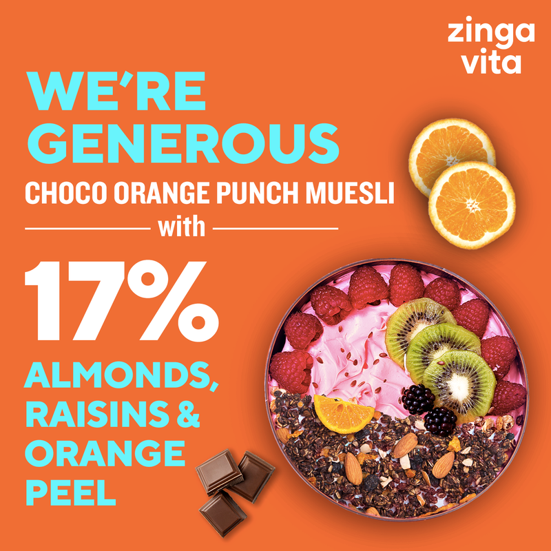 Choco Orange Punch Muesli