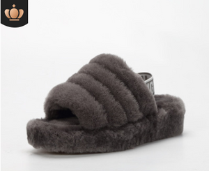 sheep fur slide