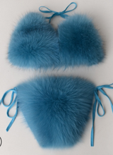 Load image into Gallery viewer, fox fur Bikini