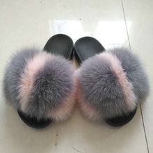 Load image into Gallery viewer, wholesale factory price fur slides  for girl