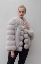 Load image into Gallery viewer, fox fur coat