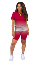 Load image into Gallery viewer, FTA319 Two-piece casual gradient solid color