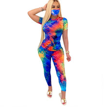 Load image into Gallery viewer, ft-231 tyedye pant set