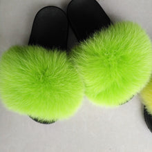 Load image into Gallery viewer, wholesale women fur slides