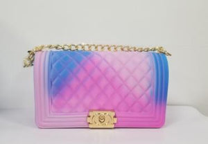 wholesale colorfull jelly purse for women
