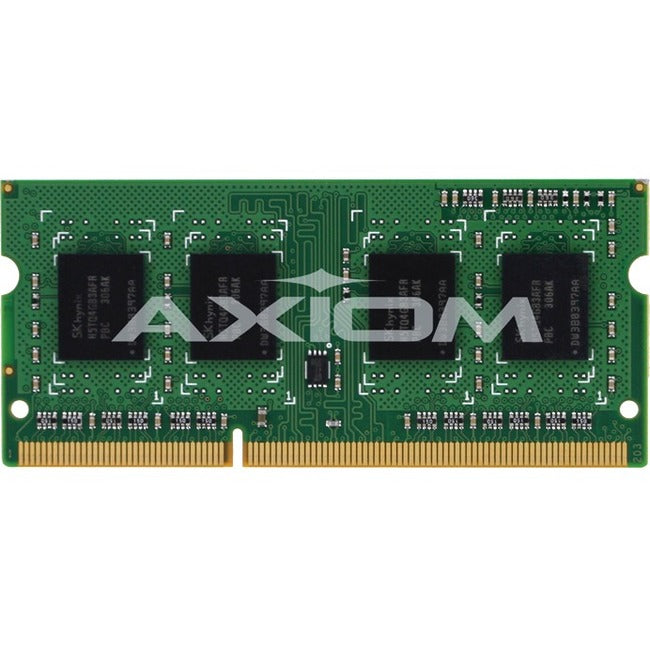 Axiom 2GB DDR3-1600 SODIMM for HP - B4U38AA, B4U38AT, H2P63AA, H2P63AT