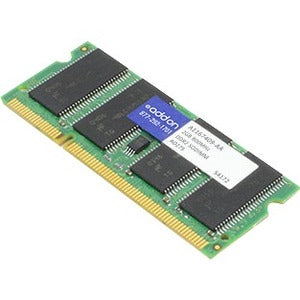 AddOn AA800D2S6-2G x1 Dell A1167409 Compatible 2GB DDR2-800MHz Unbuffered Dual Rank 1.8V 200-pin CL6 SODIMM