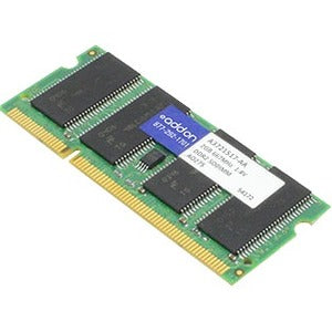 AddOn AA667D2S5-2GB x1 Dell A3721517 Compatible 2GB DDR2-667MHz Unbuffered Dual Rank 1.8V 200-pin CL5 SODIMM