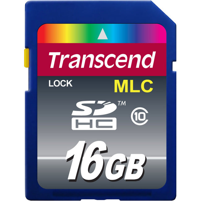 Transcend Industrial 16 GB Class 10 SDHC