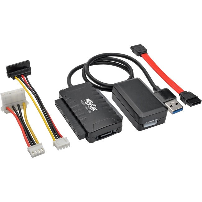 "Tripp Lite USB 3.0 SuperSpeed to SATA-IDE Adapter 2.5-3.5-5.25"" Hard Drives"
