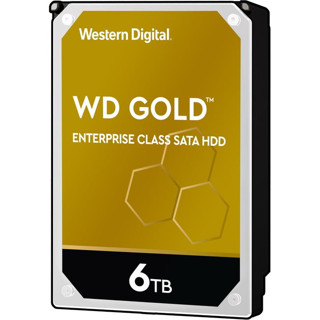 "WD Gold WD6003FRYZ 6 TB Hard Drive - 3.5"" Internal - SATA (SATA-600)"