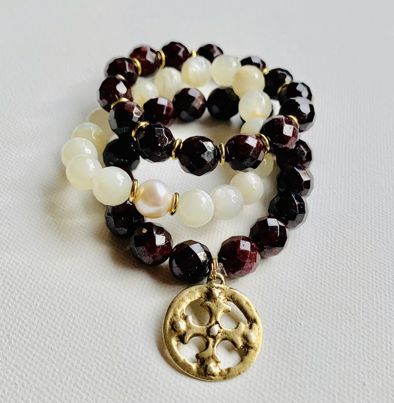 Garnet and Moonstone stack