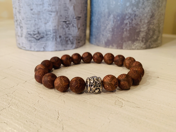 Men's Brown Jasper Bracelet