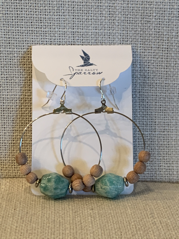 Russian Amazonite Diffuser Earrings