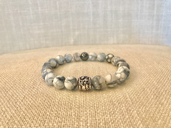 Men's dragon vein bracelet
