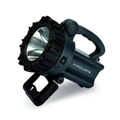 Cyclops 10 Watt LED Rechargeable Spotlight-Grey
