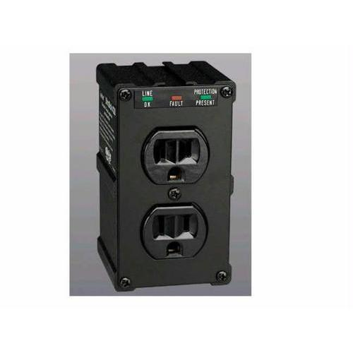 ISOBAR SURGE PROTECTOR WALL MOUNT DIRECT PLUG IN 2 OUT 1410 JOULES