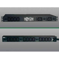 PDU SINGLE PHASE BASIC HORIZONTAL 200/240V 5.8KW 16 C13 4 C19