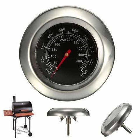 50~500?? BBQ  Grill Meat Thermometer  Gauge Gage Cooking Food Household Kitchen Tools