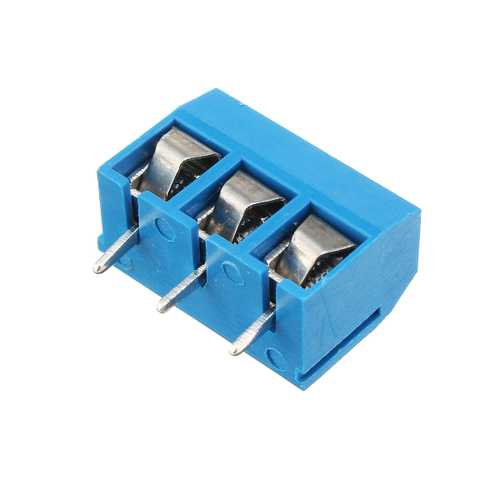 Excellway 3 Pin 5.08mm Printed Circuit Board Connector Block Screw Terminals