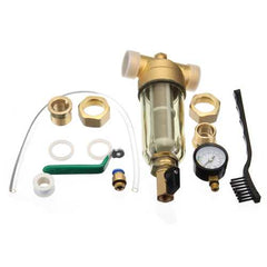 Front Water Filter 4 Or 6 Sub Proof Frost Resistance Filtration Core Copper Valve Head