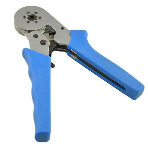 HSC8 6-6 0.25-6.0mm Crimping Tools Self-adjustable Ratcheting Ferrule Wire Crimper Plier