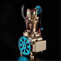Teching Single Cylinder Engine Model Full Aluminum Alloy Collection