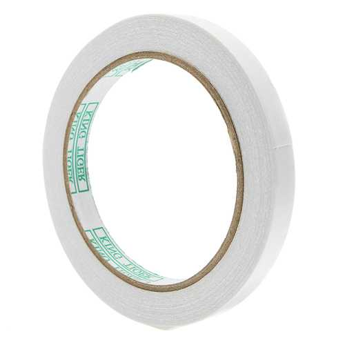 5Pcs 1cmx20m Double Sided Tape Oily Adhesive High Temperature Resistant Tape