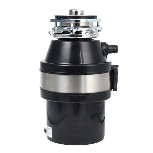 370W 220V Waste Disposer Food Garbage Sink Disposal Garbage Disposal with Power Cord US Plug